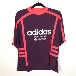 Adidas Spellout Short Sleeve Top